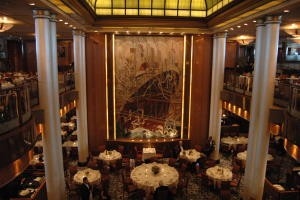 Britannia Restaurant der Queen Mary 2