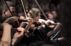 Orchester Bild Cunard