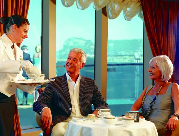 Tea Time bei Cunard